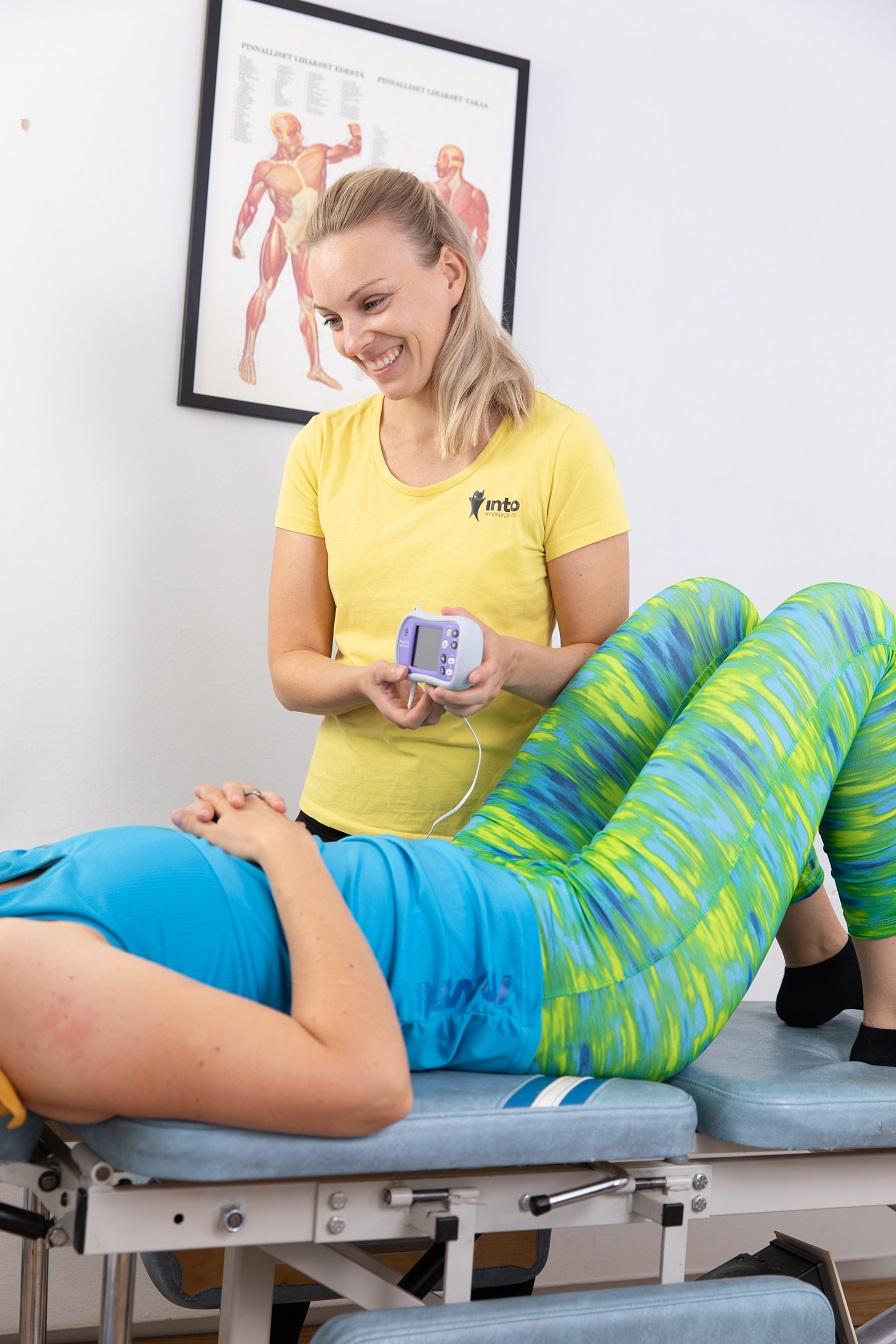 Kuva: Mitä tekee lantionpohjan fysioterapeutti?